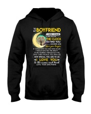 Reading Boyfriend Clock Ability Moon Hooded Sweatshirt thumbnail