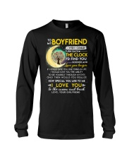 Reading Boyfriend Clock Ability Moon Long Sleeve Tee thumbnail