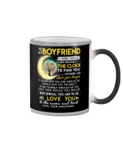 Reading Boyfriend Clock Ability Moon Color Changing Mug thumbnail