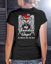 Daddy Guardian Angle Ladies T-Shirt lifestyle-women-crewneck-back-3