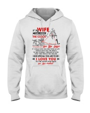Family Wife The Clock The Moon Hooded Sweatshirt thumbnail
