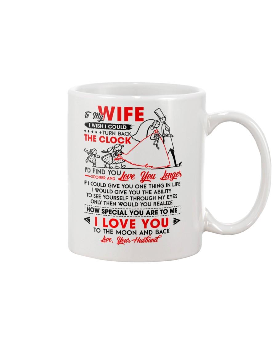 Family Wife The Clock The Moon Mug