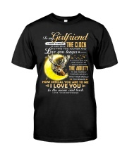 Hunting Girlfriend Clock Ability Moon Classic T-Shirt tile