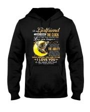 Hunting Girlfriend Clock Ability Moon Hooded Sweatshirt thumbnail