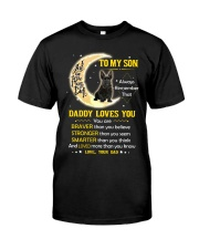 Scottish Terrier Son Dad Daddy Loves You Classic T-Shirt thumbnail