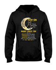 Scottish Terrier Son Dad Daddy Loves You Hooded Sweatshirt thumbnail