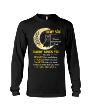 Scottish Terrier Son Dad Daddy Loves You Long Sleeve Tee thumbnail