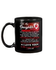 Family Daughter Dad Moon Ability Gift Mug back