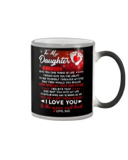 Family Daughter Dad Moon Ability Gift Color Changing Mug thumbnail