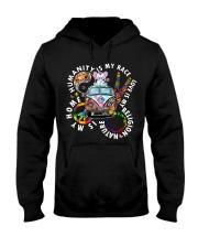 Humanity Is My Race Elephant Shirt Hooded Sweatshirt thumbnail