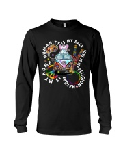 Humanity Is My Race Elephant Shirt Long Sleeve Tee thumbnail