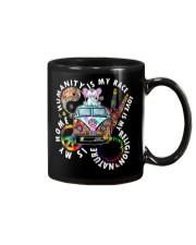 Humanity Is My Race Elephant Shirt Mug thumbnail