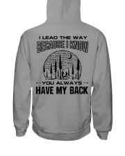 Hiking Couple For Man Hooded Sweatshirt thumbnail