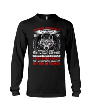 They Made Me Stronger Wolf  Long Sleeve Tee thumbnail