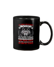 They Made Me Stronger Wolf  Mug thumbnail