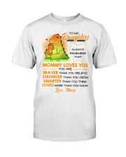 Dinosaur Daughter Mom Mommy Loves You Classic T-Shirt thumbnail