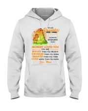 Dinosaur Daughter Mom Mommy Loves You Hooded Sweatshirt thumbnail