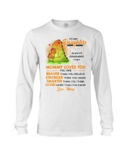 Dinosaur Daughter Mom Mommy Loves You Long Sleeve Tee thumbnail