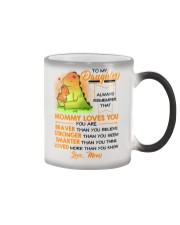 Dinosaur Daughter Mom Mommy Loves You Color Changing Mug thumbnail