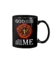 Firefighter God Designed Me Mug thumbnail
