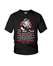 Wolf To My Son Dad Mug Youth T-Shirt tile