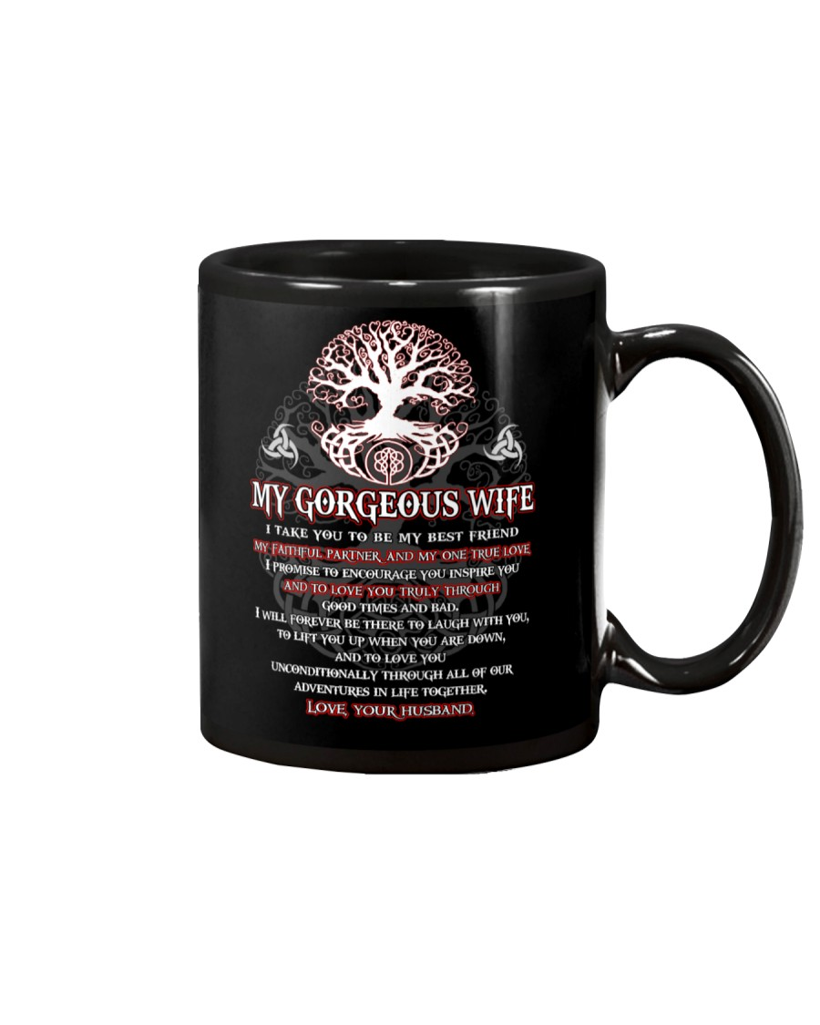 Faithful Partner True Love Wife Viking Mug