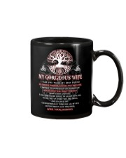 Faithful Partner True Love Wife Viking Mug tile