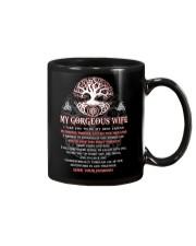Faithful Partner True Love Wife Viking Mug front