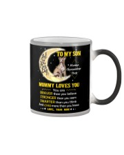 Whippet Son Mom Mommy Loves You Color Changing Mug thumbnail