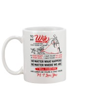Family Wife In Your Eyes I Have Found My Home Mug back