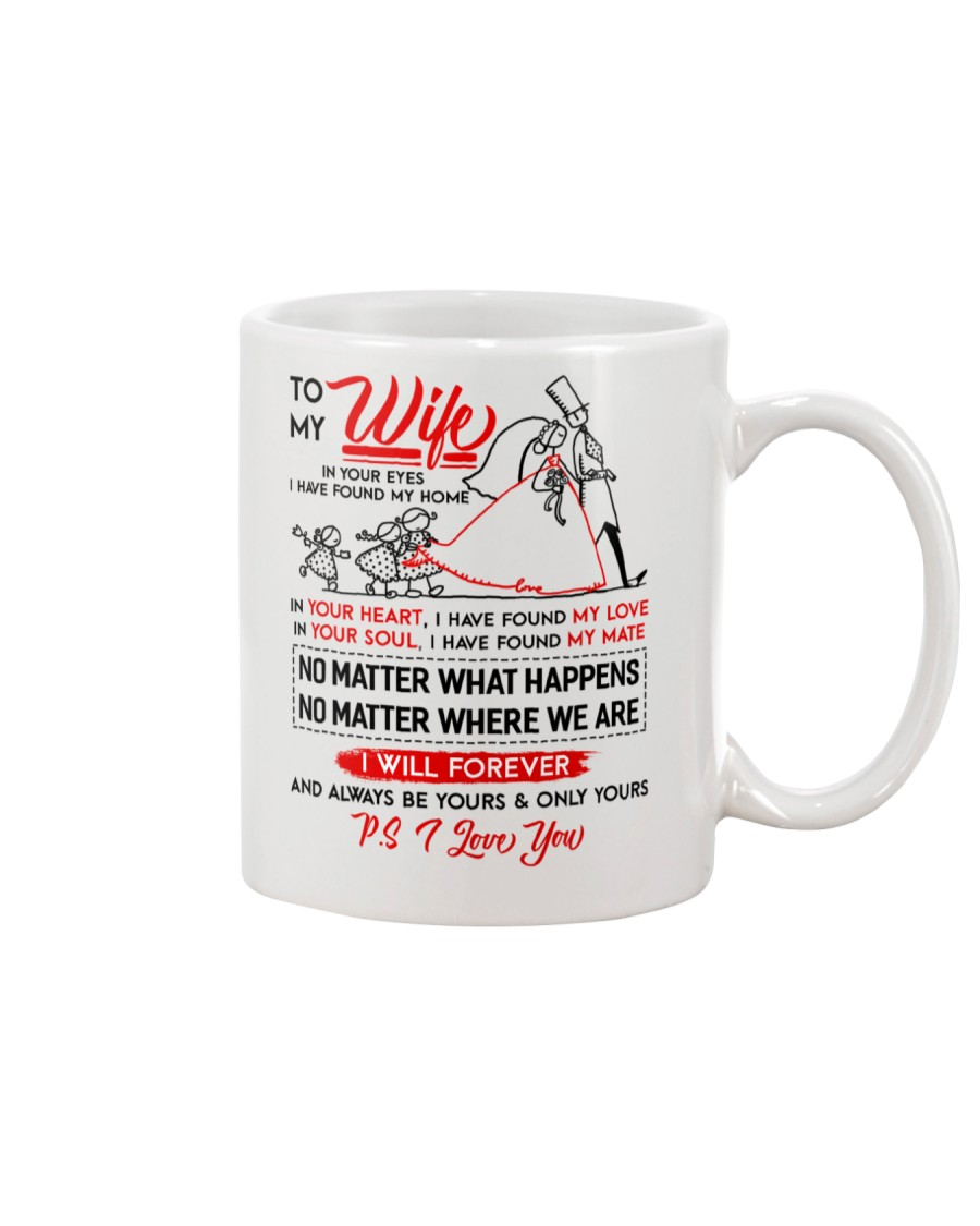 Family Wife In Your Eyes I Have Found My Home Mug