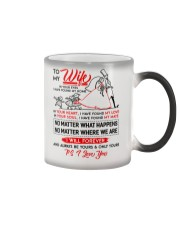 Family Wife In Your Eyes I Have Found My Home Color Changing Mug thumbnail