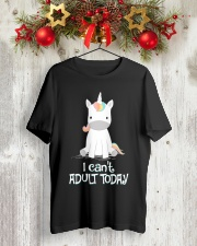 Unicorn Adult T-shirt Classic T-Shirt lifestyle-holiday-crewneck-front-2