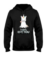 Unicorn Adult T-shirt Hooded Sweatshirt thumbnail