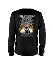 Code Of The Warrior Wolf Long Sleeve Tee thumbnail