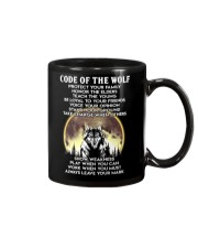 Code Of The Warrior Wolf Mug tile