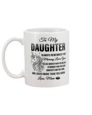 Unicorn Mommy Loves You Daughter Mom Mug back