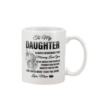 Unicorn Mommy Loves You Daughter Mom Mug front