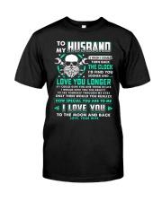 Mechanic Husband Clock Ability Moon Classic T-Shirt thumbnail