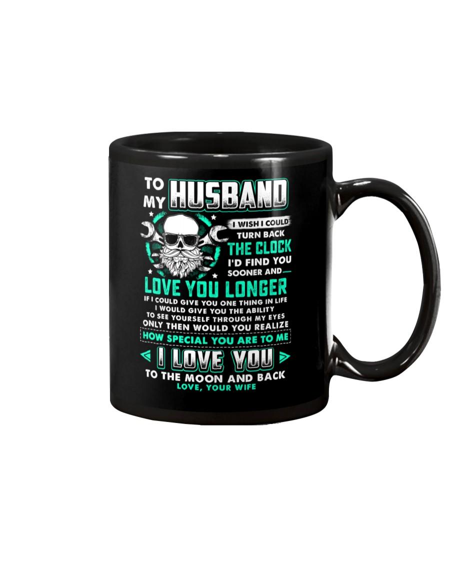 Mechanic Husband Clock Ability Moon Mug