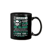 Mechanic Husband Clock Ability Moon Mug front