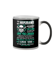 Mechanic Husband Clock Ability Moon Color Changing Mug thumbnail