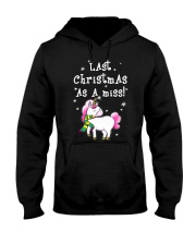 Last Christmas As A Miss Hooded Sweatshirt thumbnail