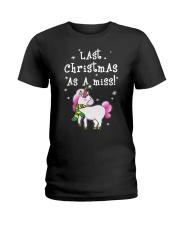 Last Christmas As A Miss Ladies T-Shirt thumbnail