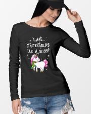 Last Christmas As A Miss Long Sleeve Tee lifestyle-unisex-longsleeve-front-4
