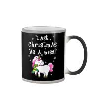 Last Christmas As A Miss Color Changing Mug thumbnail