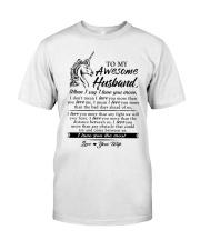 Unicorn Husband I Love You More Classic T-Shirt thumbnail