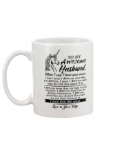 Unicorn Husband I Love You More Mug back