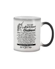 Unicorn Husband I Love You More Color Changing Mug thumbnail