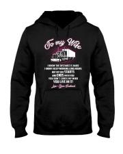 Trucker to my wife Hooded Sweatshirt thumbnail